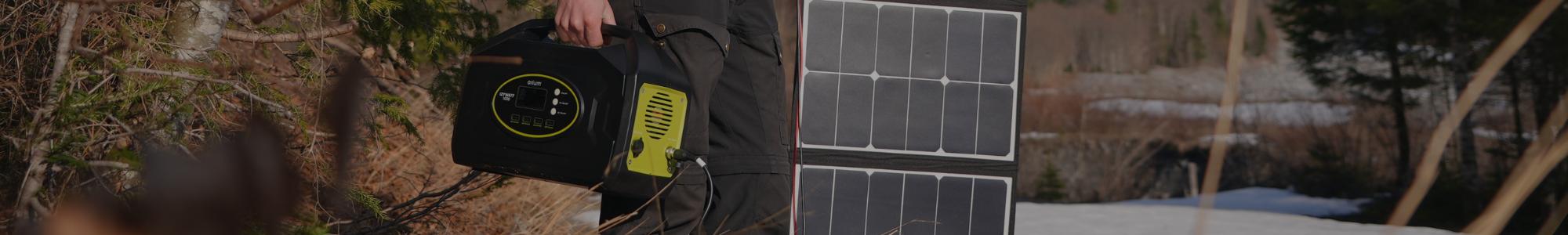 Achat Packs Solaires Portables : Panneau solaire + Batterie Nomade