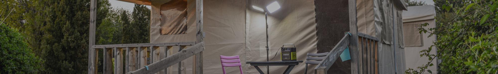 Achat lampes, accessoires et adaptateurs pour batterie nomade solaire