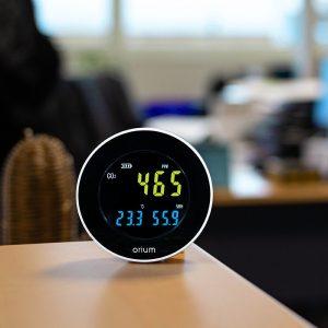 mesureur d'air intérieur quaelis 10
