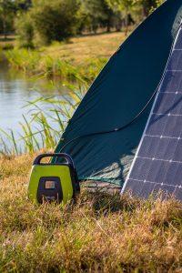 batterie solaire et nomade pour camping et transport