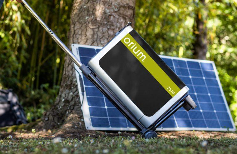 Batterie autonome et nomade pour camping