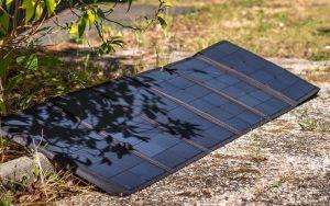 panneau solaire mobile