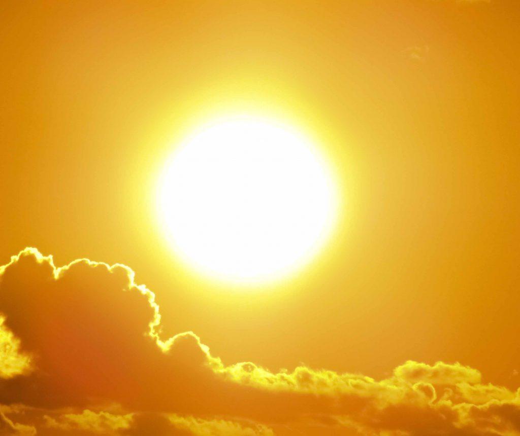 les rayonnement UV du soleil