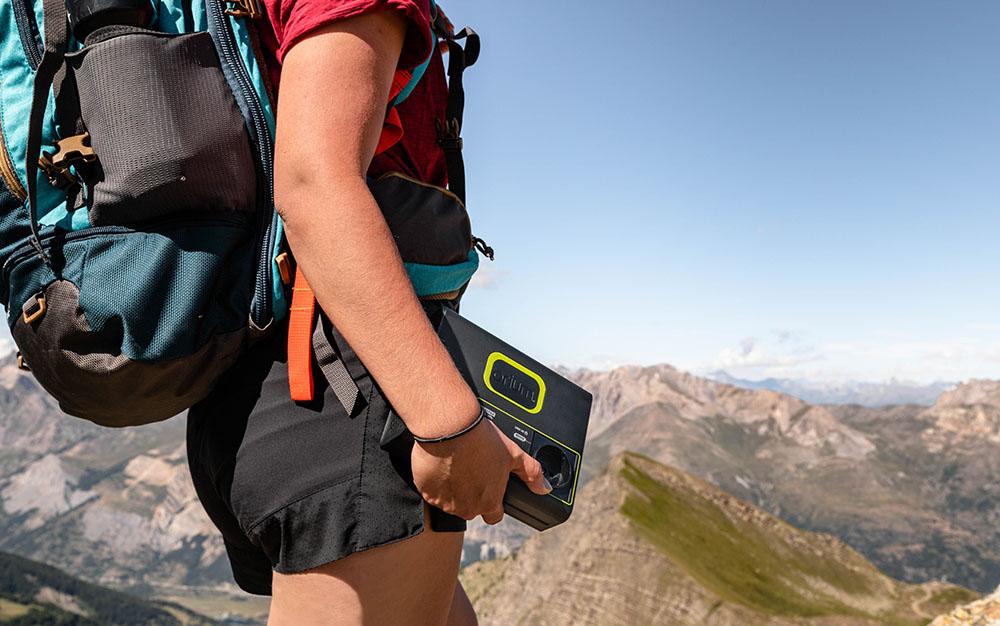 batterie Izywatt en randonnée